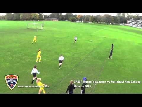 Sports Recruiting USA Female Academy vs Pontefract New College