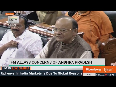 FM Arun Jaitley's Reply To Union Budget 2018 Debate