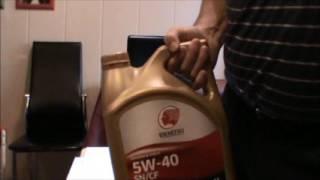 Тест на холод масло Идумитсу- для японских авто.
