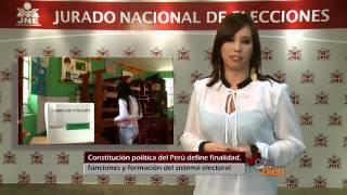 Constitución Política Del Perú Define Finalidad, Funciones Y Formación Del Sistema Electoral