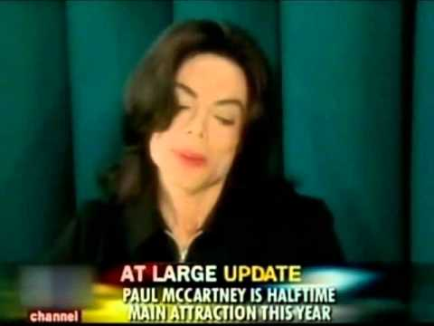 Michael Jackson talks about Janet's Superbowl Performance{2005}