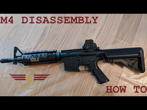 [HOW TO] Airsoft M4CQB Disassembly M4 Repair CM.506 CYMA CM506
