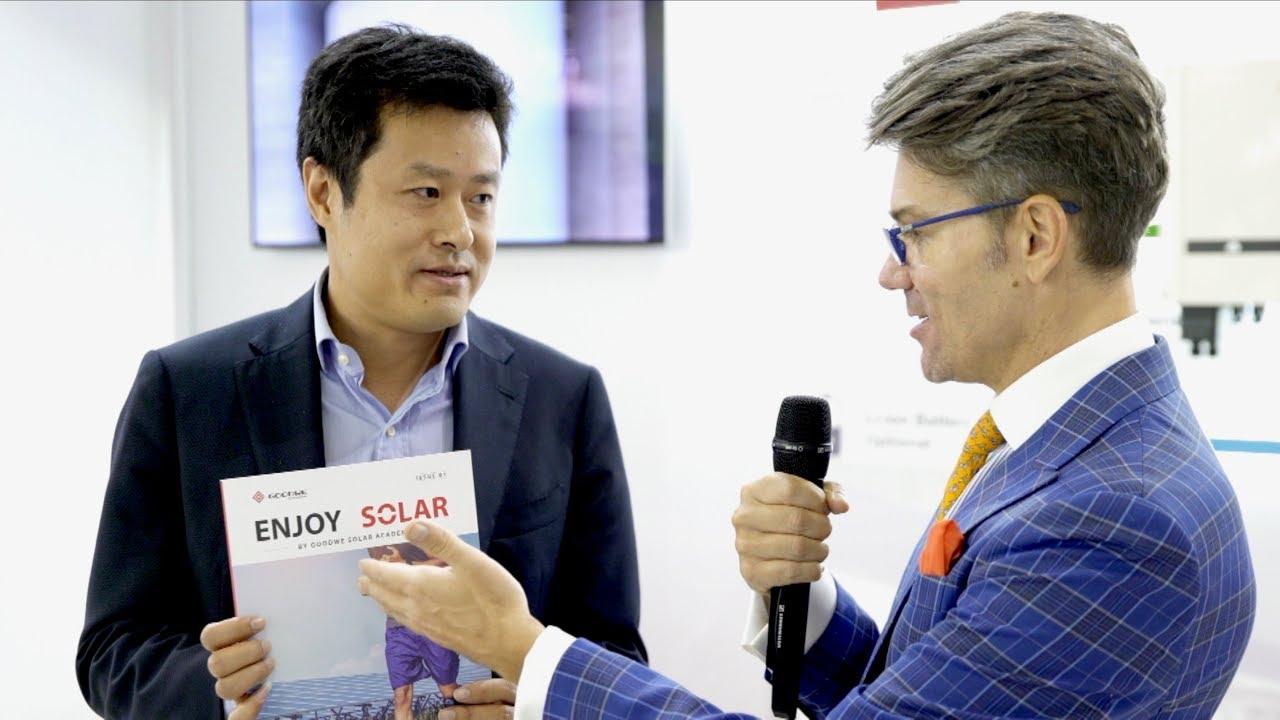 ENJOY SOLAR! Solar Academy by GoodWe - Ron Shen, VP International Sales & Service Center at GoodWe