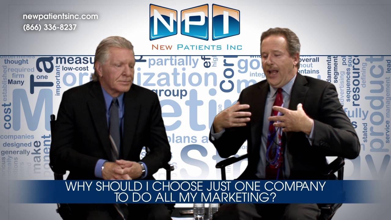 Dental Marketing 48 - Why Choose One Company For My Marketing