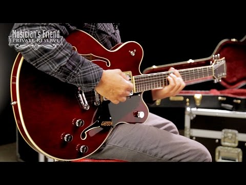 Gretsch Guitars G6609 Player's Edition Broadkaster Center Block with V-Stoptail Electric Guitar
