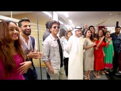 Transformers Dance Studio Performance for Shah Rukh Khan | Zero Promotions | SRK | TDS Dubai Choreo