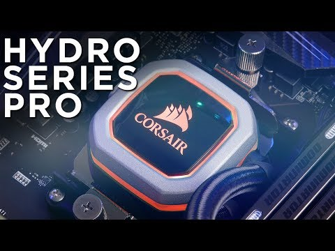 CORSAIR Hydro Series Pro Coolers - Be Seen, Not Heard