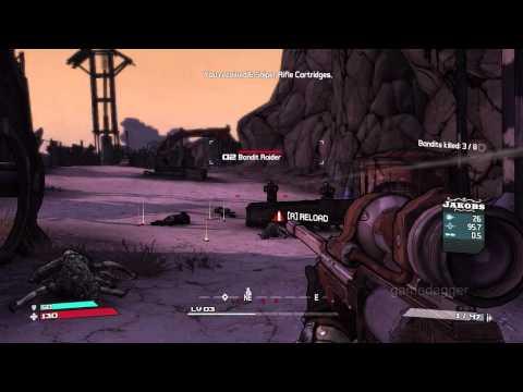 [HD] Borderlands: M06 Blinding Nine-Toes