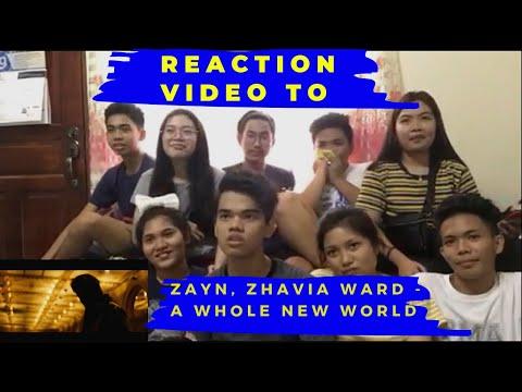 reaction-video-to-the-zayn,-zhavia-ward---a-whole-new-world