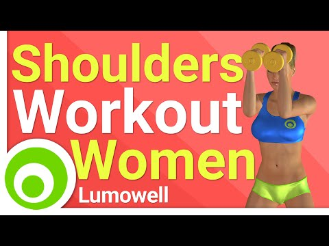 Beginner Women Fitness – Great Shoulders Workout for Women (Home)