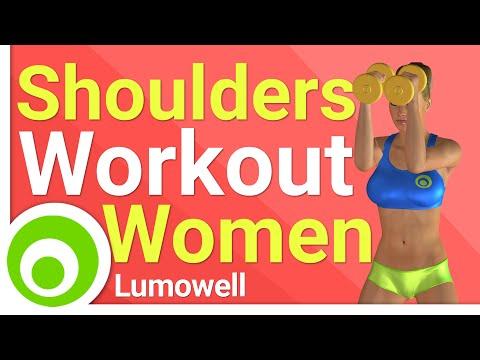 Beginner Women Fitness – Great Shoulders Workout for Women (Home)