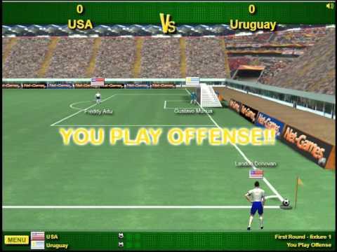 Игра Футбол 4x4 онлайн (4x4 Soccer) - играть бесплатно на
