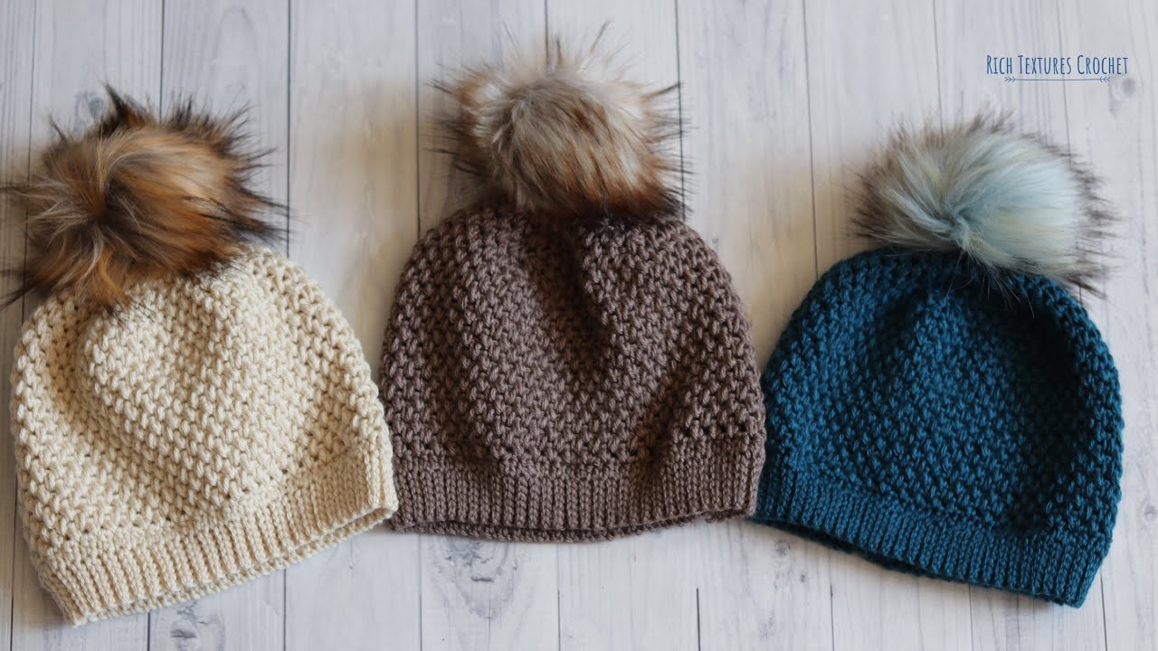 Elizabeth Beanie Crochet Pattern | How to Crochet