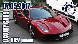 Luxury Cars in Kiev (07.05.17) Ferrari 488 Spider