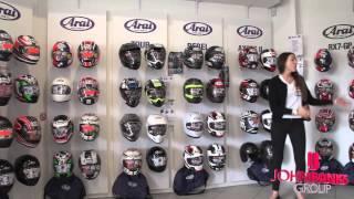 Arai Helmet offers at John Banks Honda Motorcycles