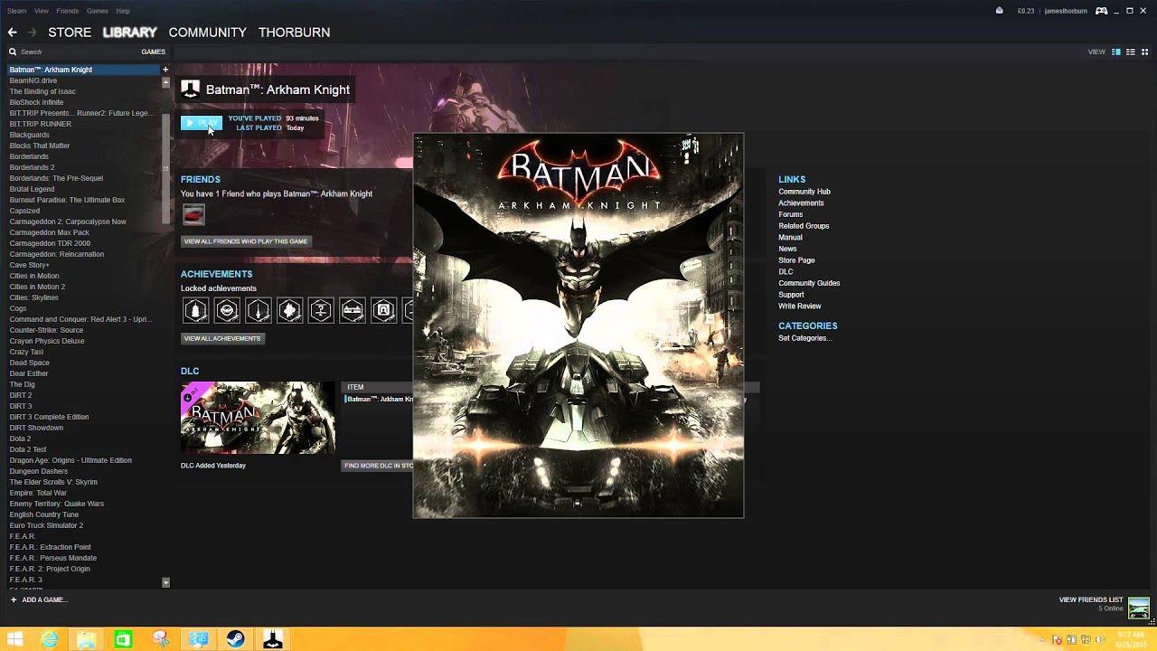 Fix for Batman Arkham Knight NVIDIA laptop flickering on loading