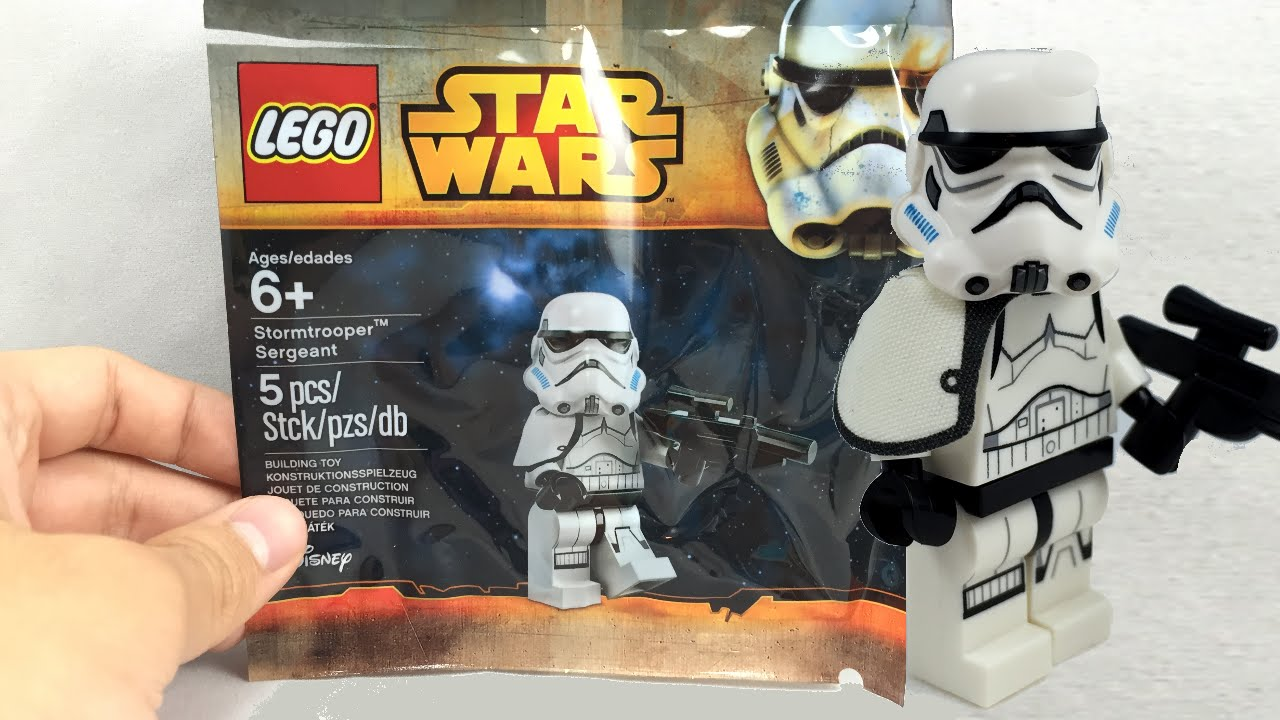 Lego Star Wars Rebels Stormtrooper Sergeant Promo Review 5002938