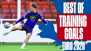 Sancho on FIRE, Grealish's Volley & Kane's Perfect Hat-trick   Best Of Training Goals