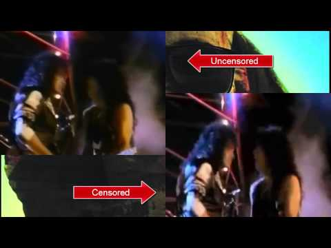 Hide Your Heart - Kiss (both video versions)