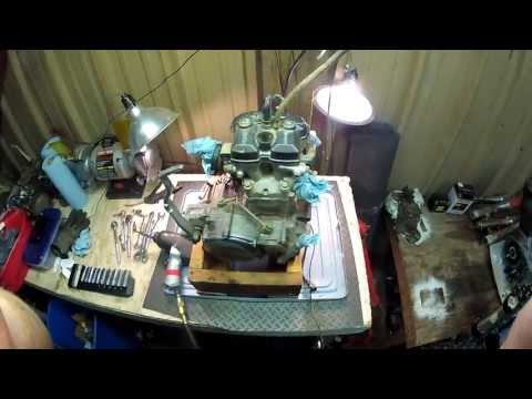 Yamaha YZ250F Top End Removal