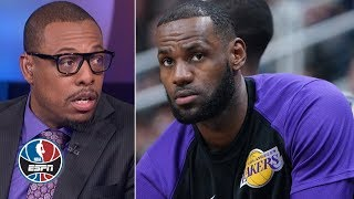 Restricting LeBron's minutes is a form of shutting him down – Paul Pierce   NBA Countdown