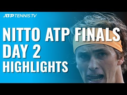 Zverev \u0026 Tsitsipas Record Maiden Wins Over Nadal \u0026 Medvedev | Nitto ATP Finals 2019 Day 2 Highlights