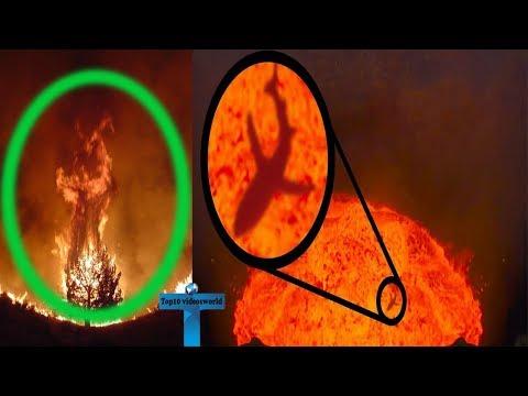 Top 10 Scariest & Creepiest Volcanoes Videos Caught On Camera