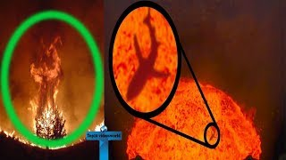 Top 10 Scariest & Creepiest Volcanoes Videos Caught On Camera - Videos YOU NEED TO SEE To Believe