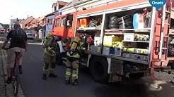 Die Feuerwehr Tirschenreuth feiert. Doch dann gibt es Alarm.