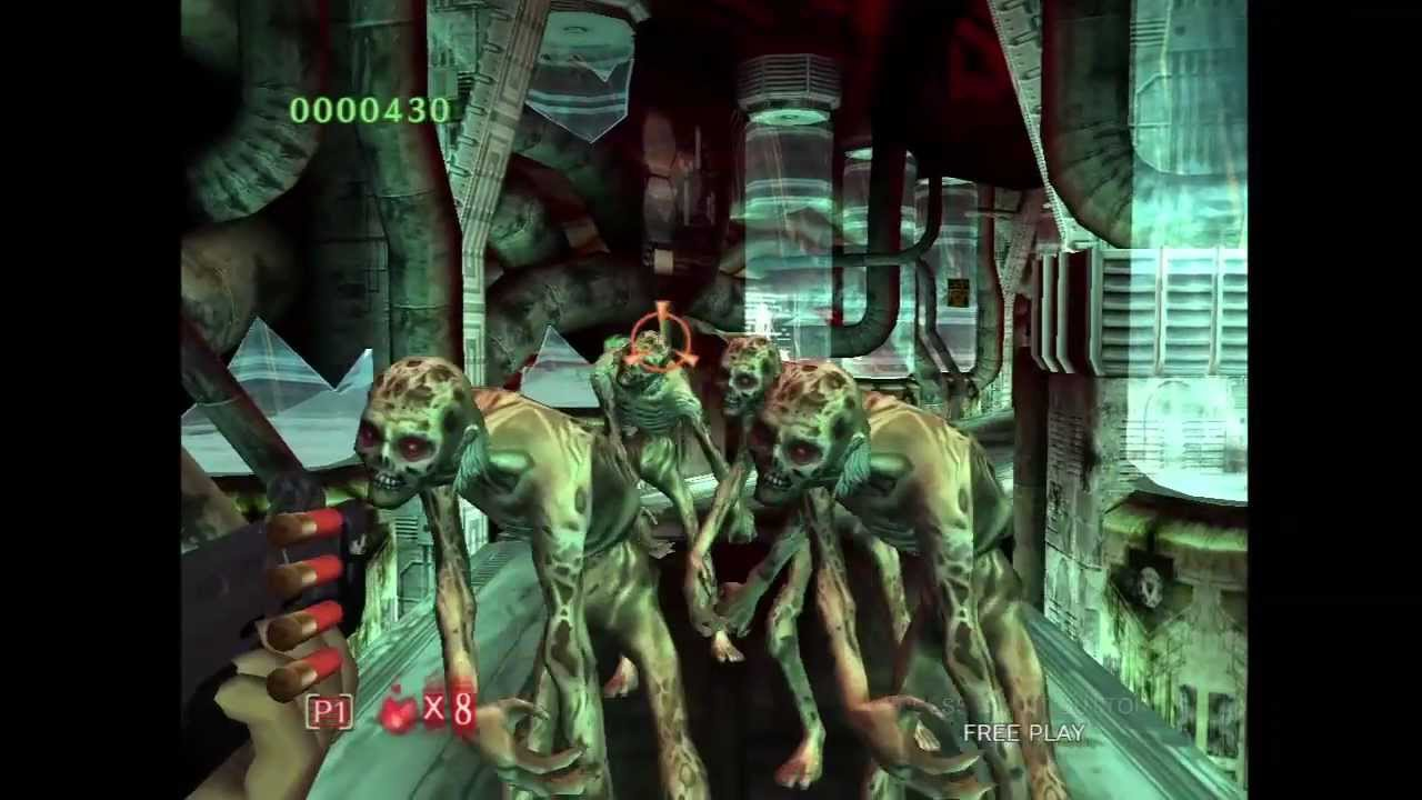 Sega Announces House Of The Dead 3 4 Hd Exclusively For The