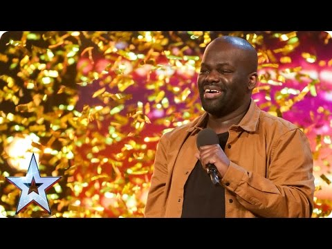 Thumbnail: Daliso Chaponda gives Amanda the golden giggles | Auditions Week 3 | Britain's Got Talent 2017