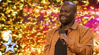 Download Daliso Chaponda gives Amanda the golden giggles | Auditions Week 3 | Britain's Got Talent 2017 Mp3 and Videos