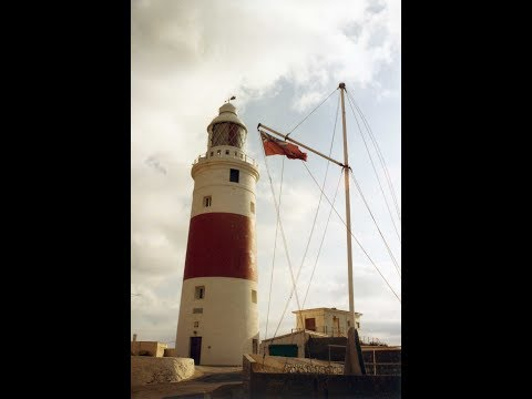 Europa Point Lighthouse, Gibraltar. 1993