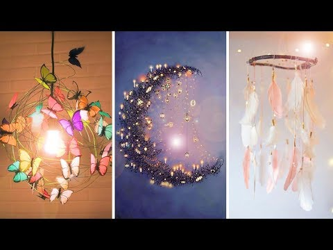 DIY Room Decor! 18 Easy Crafts at Home, Cool DIY Projects for Teenagers 2019