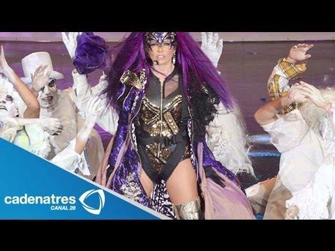 """Gloria Trevi en el Auditorio Nacional con """"Agarrate 2013"""" / Gloria at the National Auditorium"""