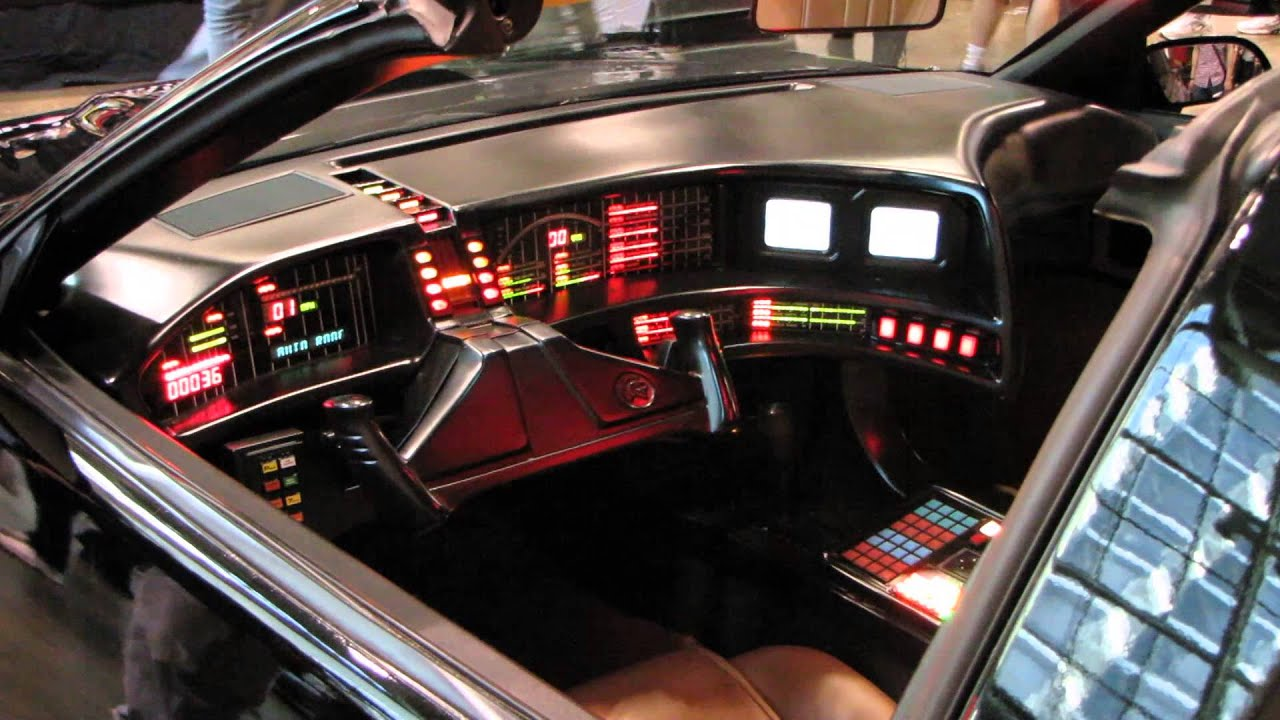 kitt knight rider interior the image kid has it. Black Bedroom Furniture Sets. Home Design Ideas