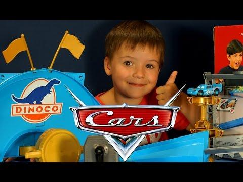 Тачки Маквин. Гонки - Трек и Машинки для детей и мальчиков. Видео на русском языке