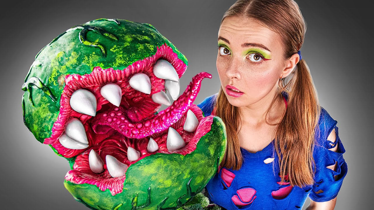 How To Make A Venus Flytrap With Light Clay / Plants vs Zombies!