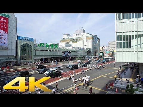 Shinjuku to Harajuku on foot - Long Take【東京・新宿/原宿】 4K