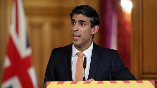 video: Chancellor Rishi Sunak unveils details of furlough scheme taper as he extends self-employed support