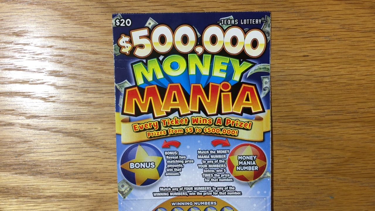 Surprise Win! $500,000 Money Mania - Texas Lottery Scratch Off