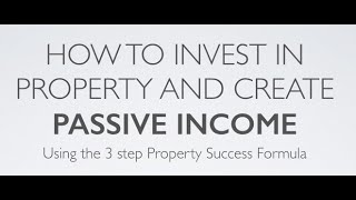 How to invest in property and create passive income thumbnail