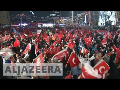 Turkey's Erdogan hails referendum victory