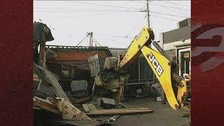 На Гусинобродском шоссе снесли незаконно работавшие павильоны
