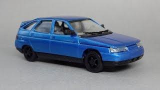 ВАЗ-2112 (Lada 2112) 1:43   Агат-Моссар-Тантал-Радон   Огляд масштабної моделі
