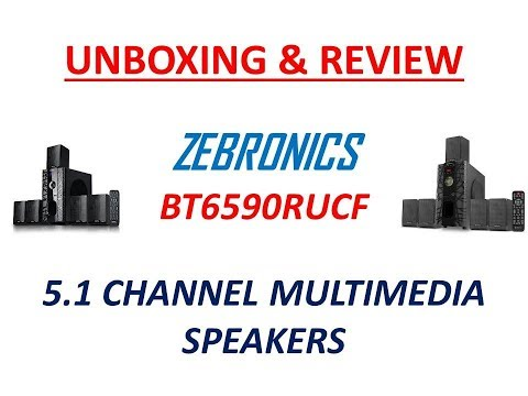 👍 OR 👎? Zebronics BT6590RUCF 5.1 Channel Multimedia Speakers UNBOXING AND REVIEW IN DETAILS !!!✅✅✅