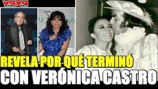 El Loco Valdes REVELA por qué terminó su relación con Verónica Castro.