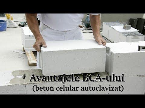 BCA – avantajele Betonului celular autoclavizat