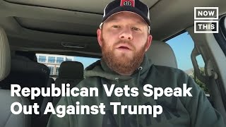 These Republican Vets are Refusing to Vote for Trump | NowThis