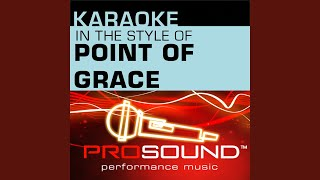 You Will Never Walk Alone (Karaoke With Background Vocals) (In the style of Point Of Grace)